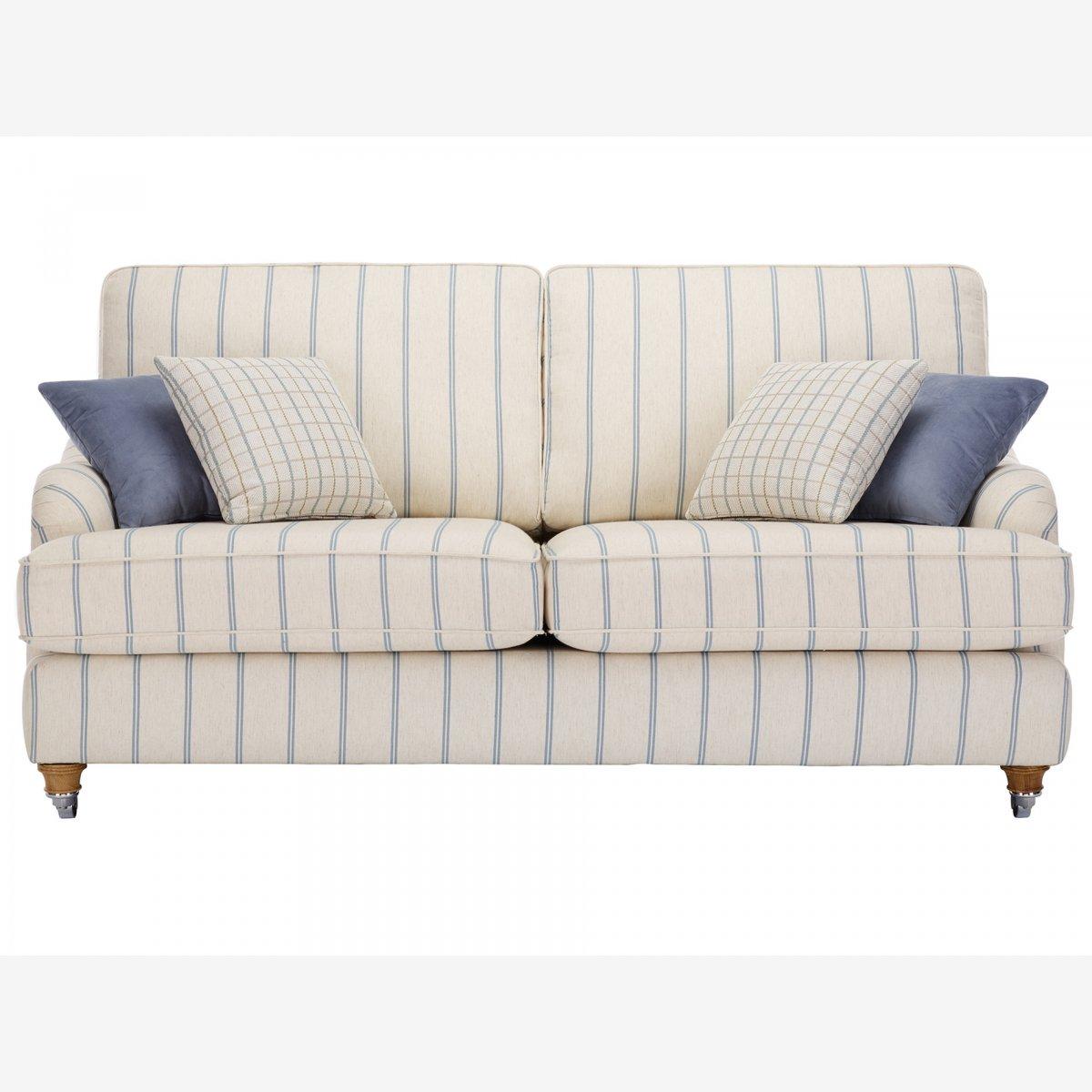 striped fabric sofas uk natuzzi sectional leather sofa westbury 3 seater in kendrick stripe