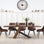 Chateau 180cm Black Leg Dining Table With Marcel Antique Dining Chairs Spare Products For Sales