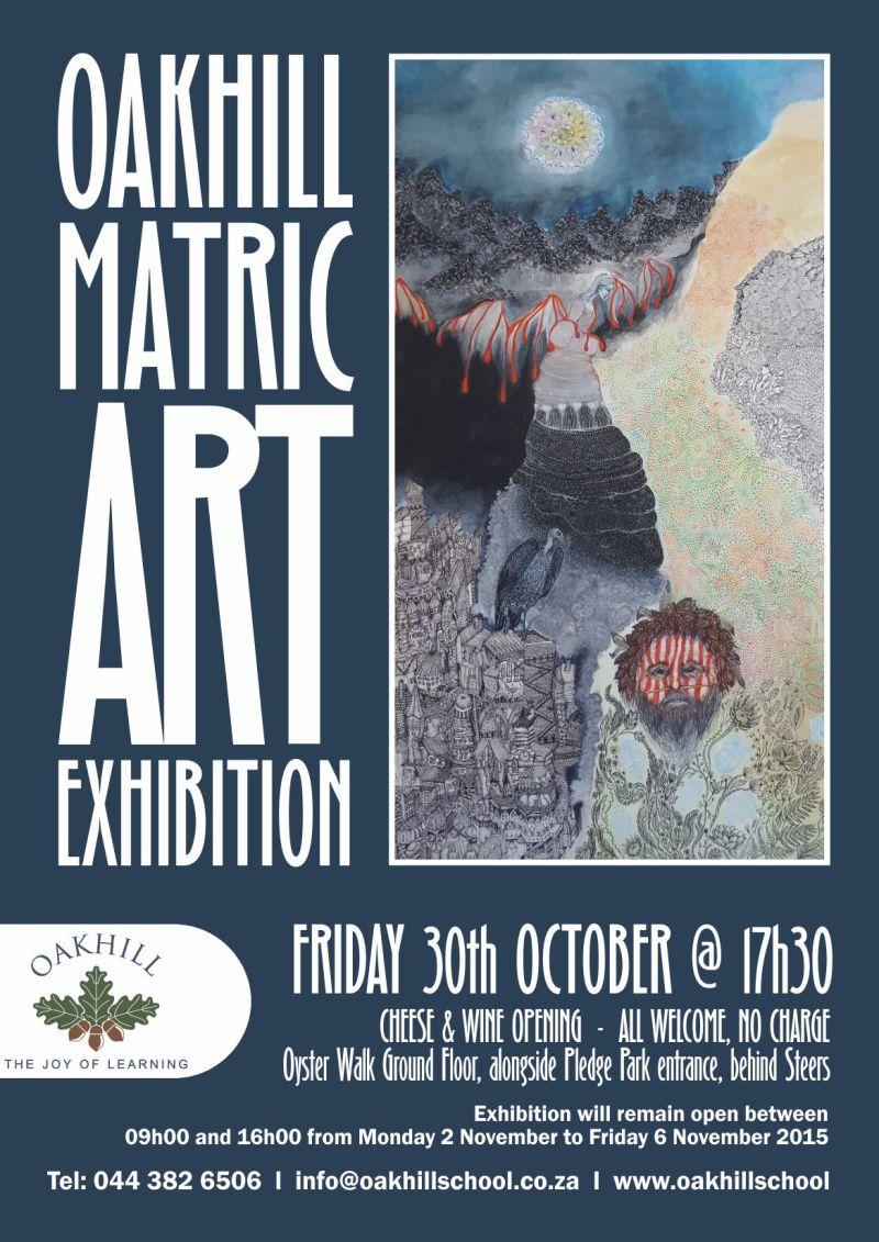 POSTER Matric Art Exhibition