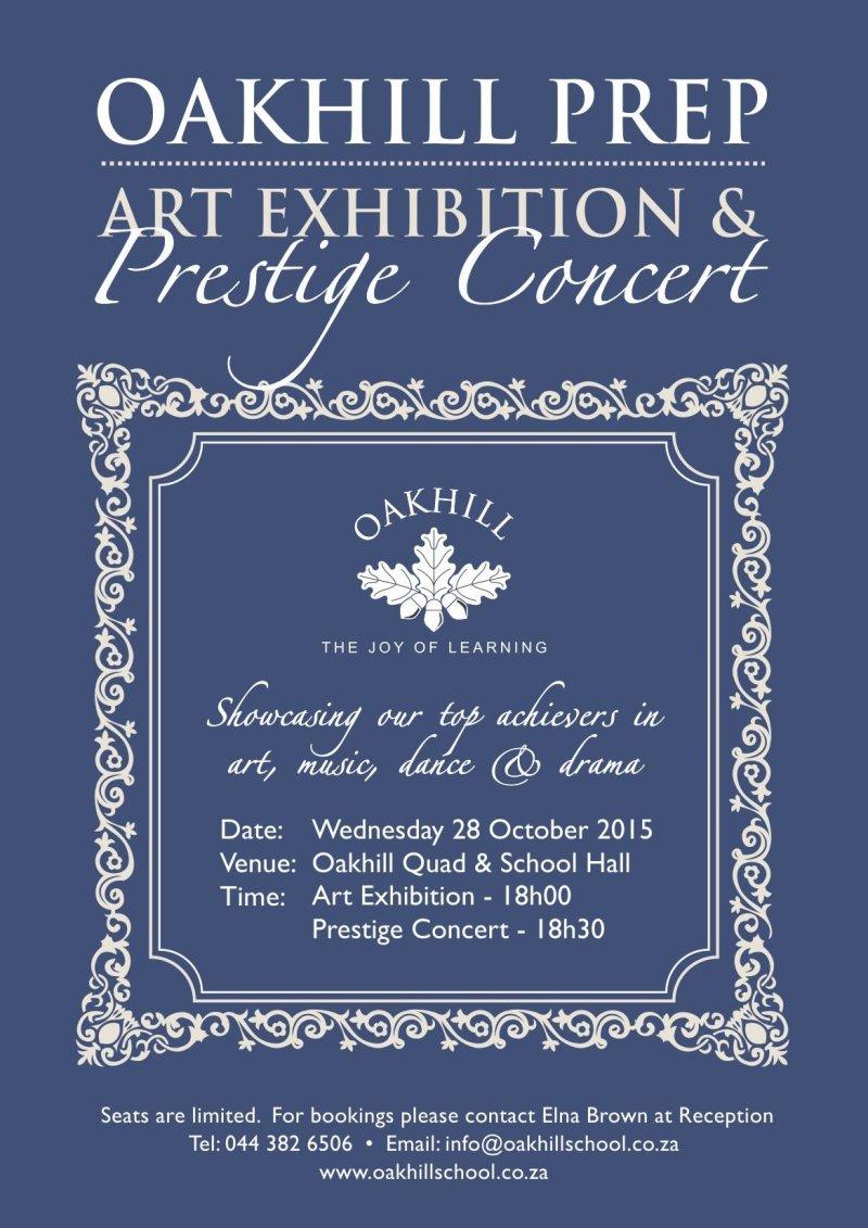 Prep Arts Exhibition & Prestige Concert