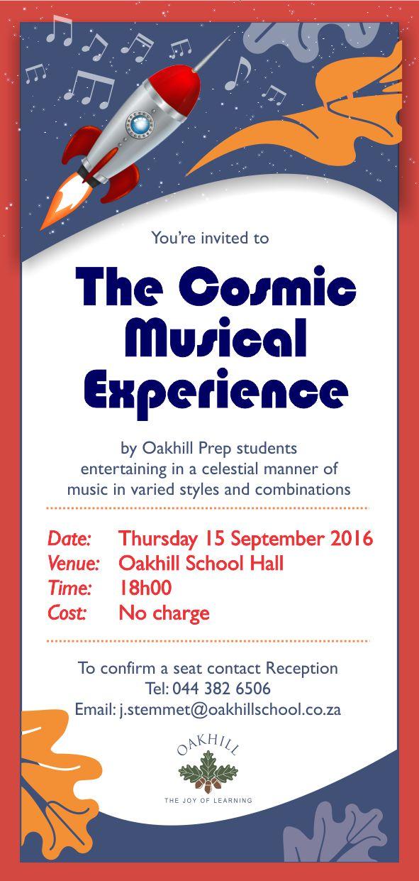 INVITE Cosmic Musical Experience