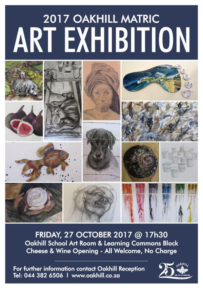 Oakhill Matric Art Exhibition 2017
