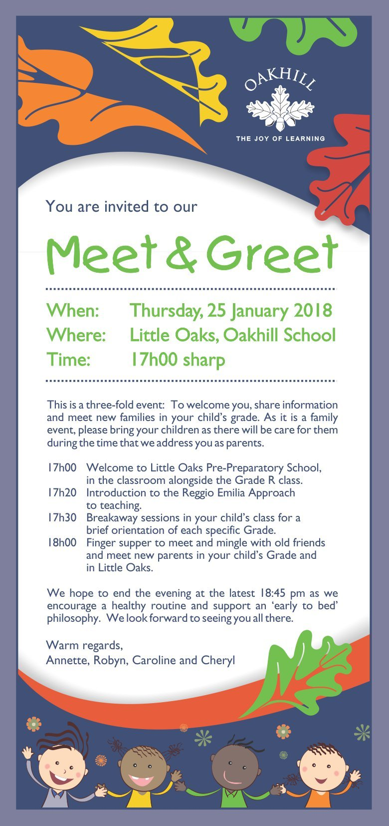 Little Oaks Meet & Greet 2018