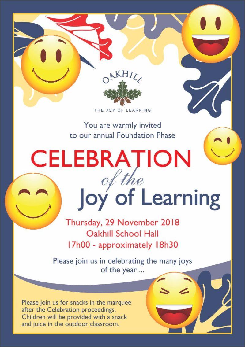 Invite FP Celebration 2018