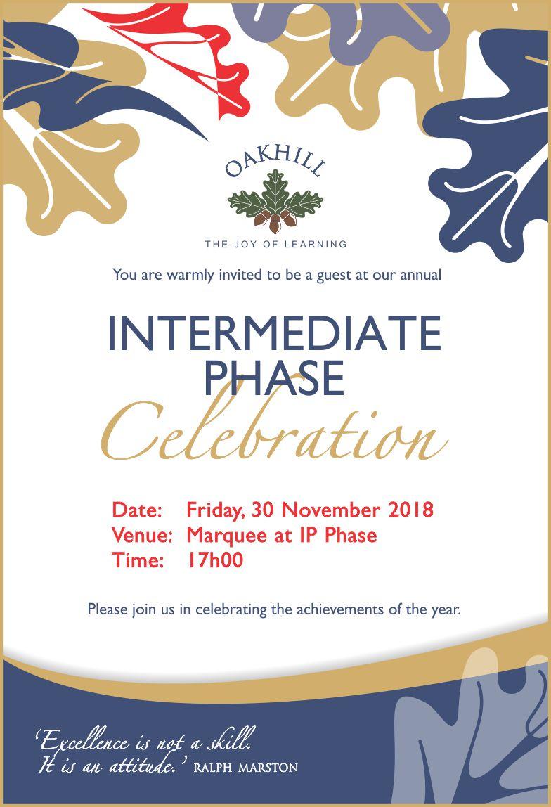 Invite IP Celebration 2018