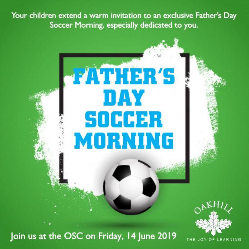 Fathers Day Soccer Invite web