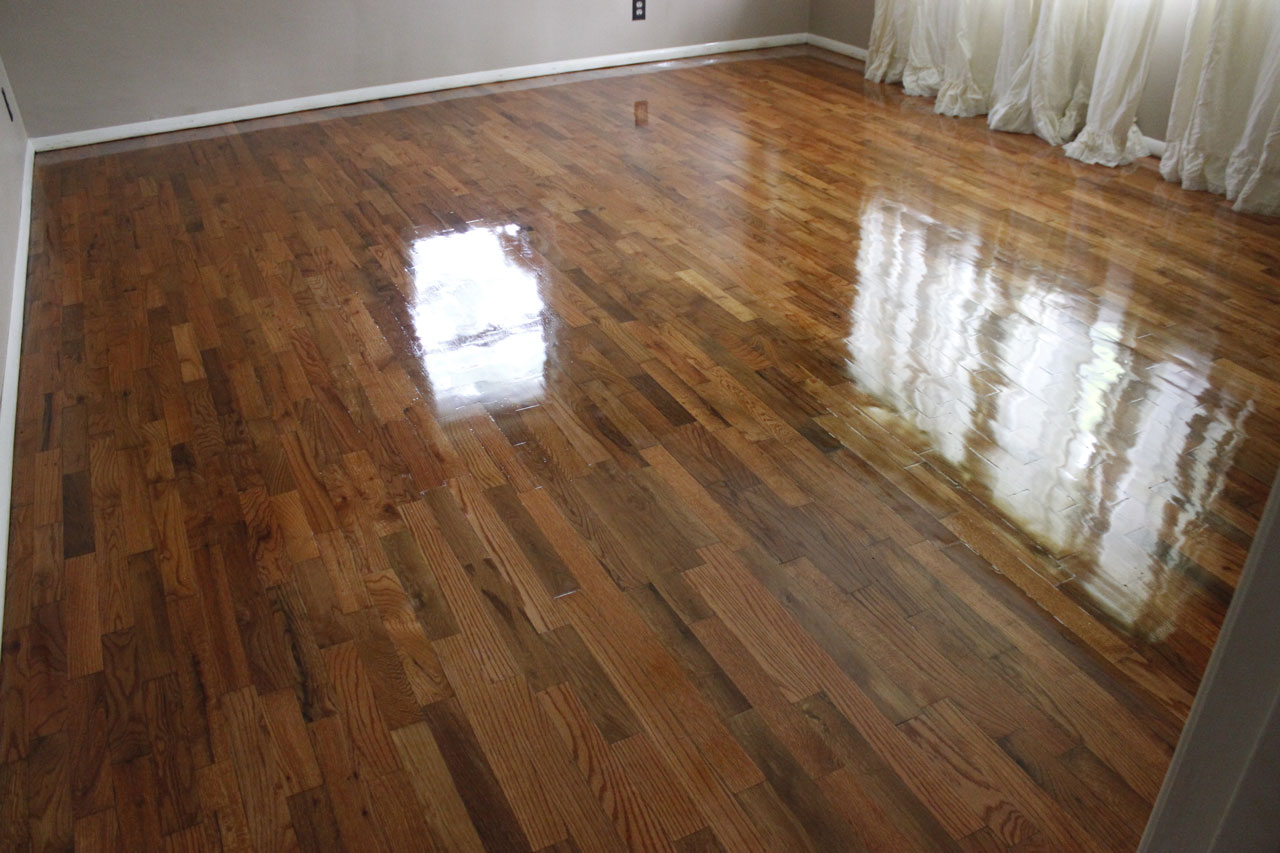 Oakland Hardwoods Floor Refinish