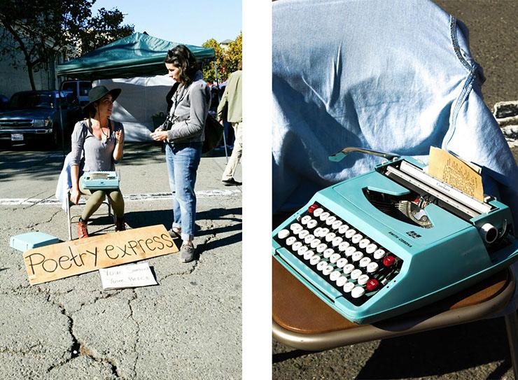 Adrienne and Typewriter