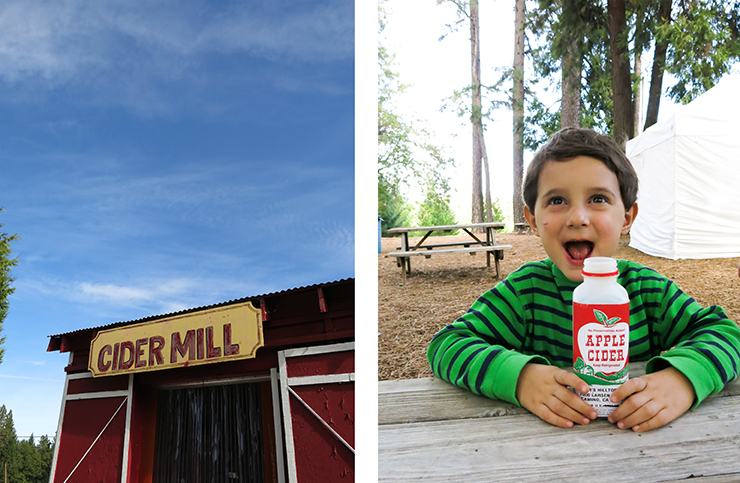 Cider Mill and Alex