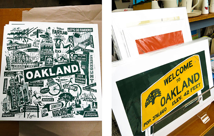 2 oakland signs