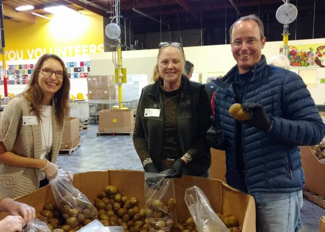 Alameda County Food Bank Volunteer