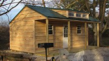 14x20 Garden Shed With Porch