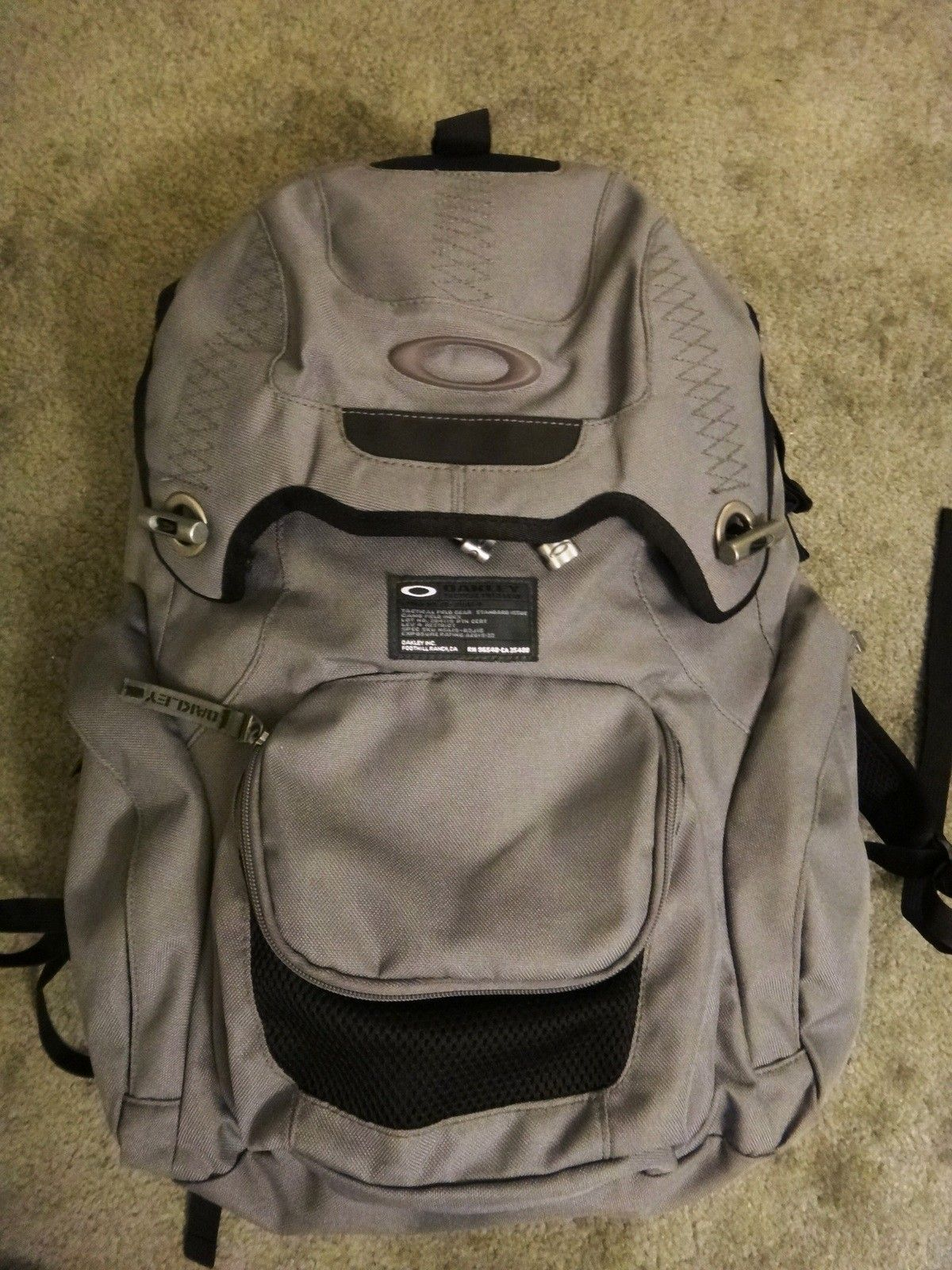For Sale  Oakley panel pack backpack sheet metal book of