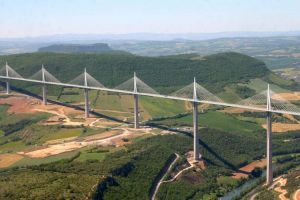 Figure 9: Visualization of the Millau Viaduct (Photo: HighestBridges.com)
