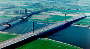 Figure 6: Highway bridge Beekerwerth (A42), D