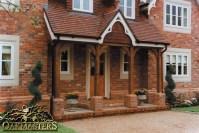 Open porches - Oakmasters