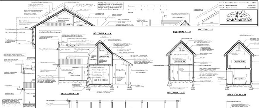 Oak Frame: Building regulations detail and applications