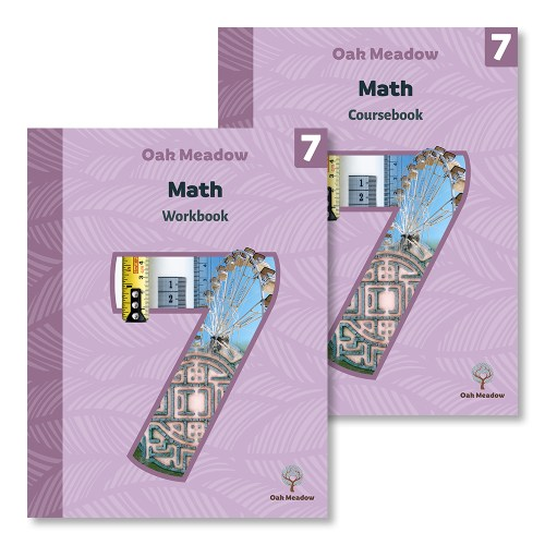 small resolution of 7th Grade Math Package   Oak Meadow Bookstore