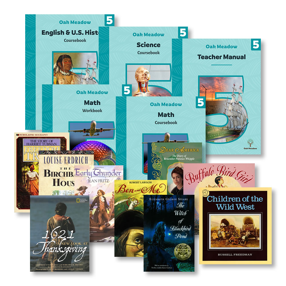 medium resolution of 5th Grade Curriculum Package   Oak Meadow Bookstore