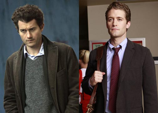 Travers and Schuester: Brothers?