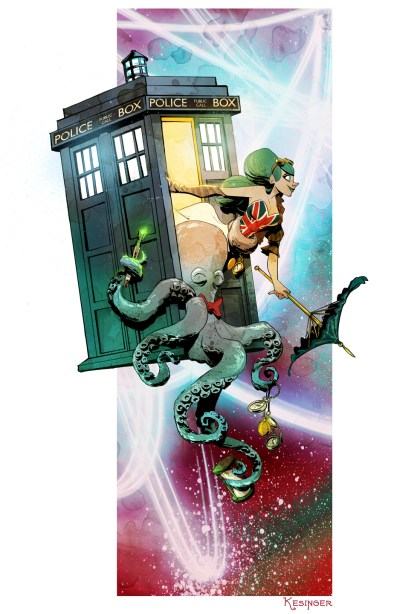 Brian Kesinger - Otto & Victoria - Doctor Who