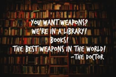 OakMonster.com - Doctor Who - Silence in the Library