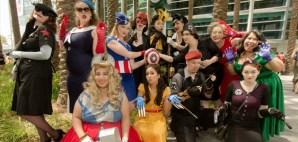 OakMonster.com - Justin Davidson Photography - Bombshell Avengers at WonderCon 2014