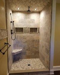 Walk in showers - Oakmoore Tile