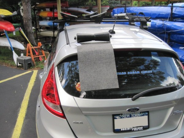 Oak Orchard SUV Kayak Roller Loader Load your kayak with