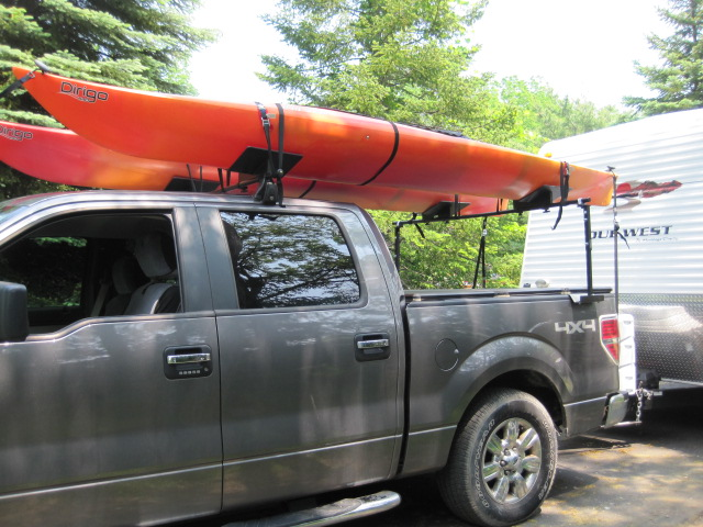 Oak Orchard Style #2 Pick up Truck Rack Canoe Kayak Canoes
