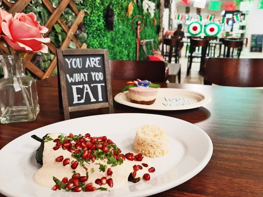 You are what you eat! Colorful dishes await at Cien 100% Naturalisimo/Elsmo