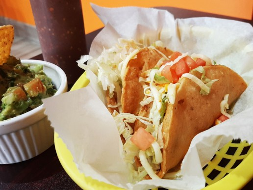 The papa taco from Zacatacos is comfort food through and through. Photo by Melissa Elsmo