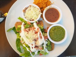 "Flautas de Papa appear among the popular ""south of the border"" menu options at Eggsperience in Elmwood Park."
