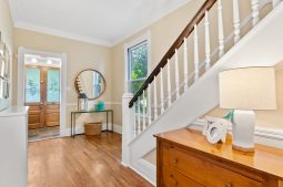 Entry way in the Keystone Avenue home.