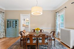 Dining room in the Keystone Avenue home.