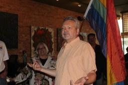 Greg Raub, co-chair of the Oak Park Area Lesbian and Gay Association.