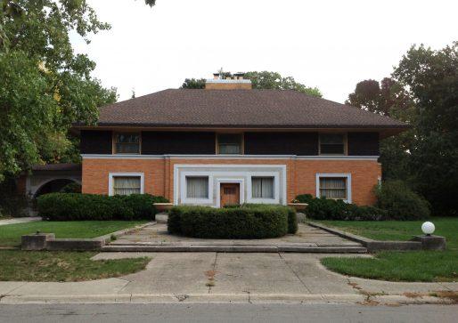 Frank Lloyd Wright's Winslow House. (Photo courtesy of Nick Kalogeresis)