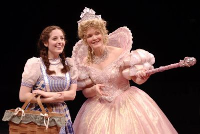 On the road: Dara Cameron as Dorothy Gale in Marriott's 'The Wizard of Oz.' (Courtesy Open Door)