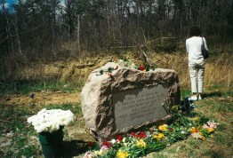 The survivors purchased the crash site and dedicated a monument to the victims on April 16, 2000. | Courtesy of Janine Katonah