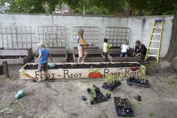 The raised-bed garden at the Day Nursery of Oak Park and River Forest in 2013. | FILE