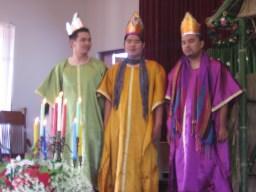 "Thai ""magi"" in Nong Bua Sam's Christmas pageant"