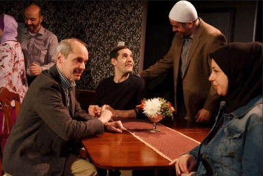 'Yasmina's Necklace' runs Thursdays and Fridays at 7:30 p.m. and Saturdays at 5 and 8:30 p.m. at 16th St. Theatre, 6420 16th St., Berwyn, through Feb. 27. Call 708-795-6704 or visit 16thstreettheater.org. | Courtesy 16th St. Theater