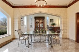 The former Jesuit chapel is now a solarium. | Courtesy of Coldwell Banker