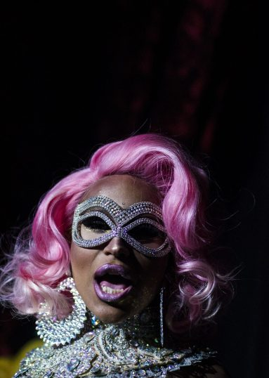 Lila Starr performs. | WILLIAM CAMARGO/Staff Photographer