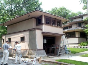 The McGees and Fortune documented the restoration project with before and after shots. | Provided