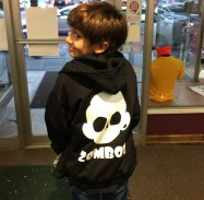 When Oak Park 5th grader Carlos Reyes wanted a sweatshirt with his favorite band Zomboy, his options were limited. With some careful saving he was able to create his own at ShirtWorks in Oak Park. Located on Marion in the heart of Down Town Oak Park, Shirtworks is an Oak Park family owned business that has been here for 40 years. Shirtworks will work to ensure that your ideas and design become a one of a kind embroidered or screen printed wearable gift.