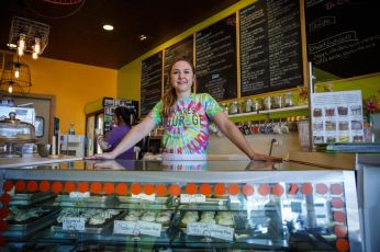 Laura Pekarik, owner of Courageous Bakery & Cafe, is opening her second location at the former Red Hen Bakery.   Photo provided by Courageous Bakery & Cafe.