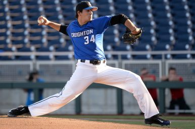 Keith Rogalla drew Major League Baseball scouts' attention with a fastball between 92 and 95 miles per hour and a solid curveball. The Angels drafted the former OPRF star in the 12th round as the 355th player chosen overall in the MLB First-Year Player Draft. | Photo by Steve Branscombe