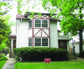 """Edgar Rice Burroughs bought the house at 414 Augusta St. after his success publishing the first two """"Tarzan"""" stories in 1912 and 1913. He would write three more titles in the series between 1914 and 1917, the year the family moved to a home a half mile west, at 700 Linden Ave. 