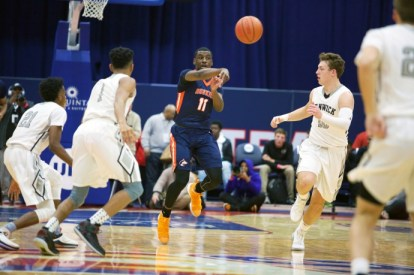 OPRF senior guard Isaiah Fuller is a three-year varsity player for the Huskies. He's an excellent two-way player who provides OPRF with leadership as well.(File photo)